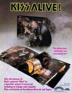 'Alive!' Ad - 1975