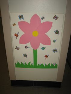 Pin the butterfly on the flower - and more butterfly birthday party ideas