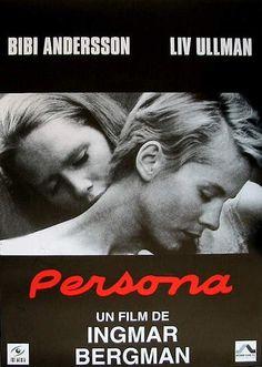 Persona, 1966 by Ingmar Bergman.
