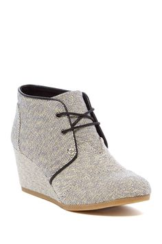 45d9b6729a8 Desert Chukka Wedge Bootie by TOMS on  nordstrom rack Wedge Bootie