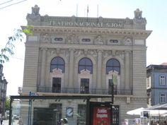 Teatro Nacional San Joao en Oporto (Portugal)