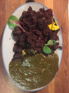 Edible Dirt Edible Dirt, Palak Paneer, Ethnic Recipes, Food, Kitchens, Meal, Essen, Hoods, Meals