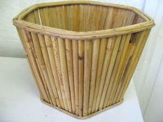 $20 CANE POT PLANT HOLDER 30x22cm Text 0411691171 or email info@bitspencer.com