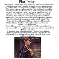 hunger games plot twist - Google Search