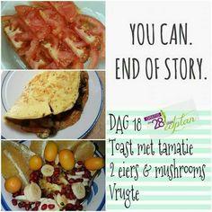 28 Dae Dieet, Dieet Plan, Diet Motivation, Eating Plans, Recipies, Stuffed Mushrooms, Toast, Beef, Cooking