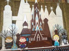 the contemporary's frozen gingerbread castle