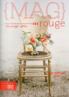 MAG rouge. Slightly over-designed for my taste, but they have beautiful content.