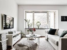 Post: Perfecta cocina abierta --> blog decoración nórdica, cocina abierta, cocinas blancas, cocinas modernas, cocinas nórdicas, decoración interiores, diseño interiores, pisos suecos, nordic kitchen, interior inspiration, interior design