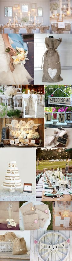 Wedding Inspiration :: All things Burlap » Mandy Paige Photography