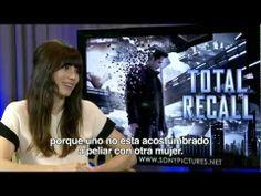 Jessica Biel habla sobre Total Recall en entrevista con Alex Medela