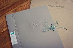Ribbon Type Specimen book. Lovely binding