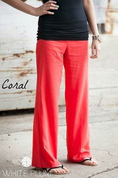 These pants are perfect to wear when hitting your favorite vacation spot or just running around town.