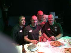 Father Lenny & TPD (Pie Eating Contest)