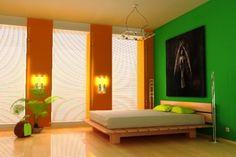 Kombinasi Warna Cat Rumah - Hijau Lumut