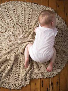 Knit - Cecelia Blanket Knit Pattern - #RAK0747