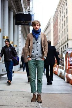 Posting this in menswear, but I would totally wear this outfit from head to toe.