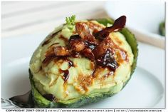 Angie's Recipes . Taste Of Home: Avocado Mashed Potatoes with Caramelized Garlic
