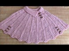 Crochet Chunky - DIY Como tejer un top a crochet Crochet Doily Rug, Crochet Shawl, Knit Crochet, Boho Crochet, Crochet Scrubbies, Baby Poncho, Baby Pullover, Braidless Crochet, Double Crochet Decrease