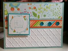 A Little Scrapping Haven: Heartfelt Sentiments Paper Focus Blog Hop: Blossom