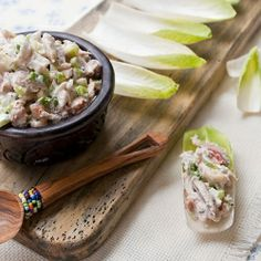Six easy appetizers: Brie en Croute, Crab Salad in Endive, Caprese Kebabs, Cucumber/Shrimp sliders, mini Greek kebabs & artichoke fillo cups