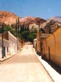 Purmamarca, Argentina My dad and mom took us here for vacation. Unforgettable!!!