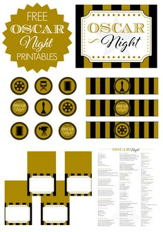 Free-Oscar-Party-Printables.png 700×1,000 pixels