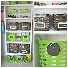 Toddler closet organizing ideas by Keep Calm and decorate