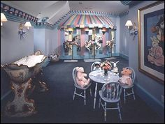 Carousel theme bedroom decorating ideas and carousel horse theme decor