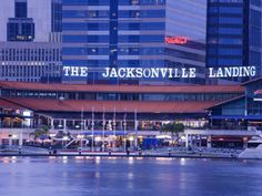 inch Photo Puzzle with 252 pieces. (other products available) - The Jacksonville Landing, Jacksonville, Florida, United States of America, North America - Image supplied by WorldInPrint - Jigsaw Puzzle made in the USA Jacksonville Florida, Florida Sunshine, Sunshine State, Made In America, North America, Down South, Key West, Yorkie, Florida