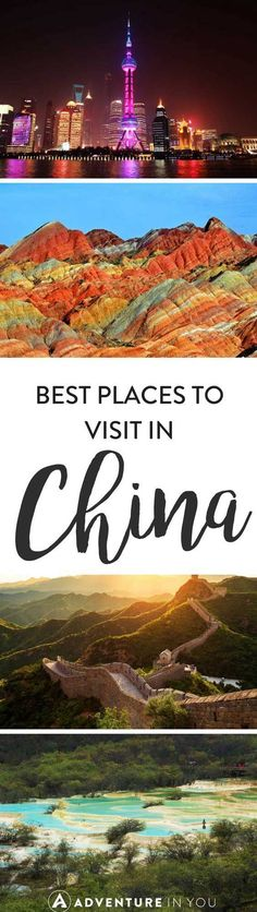 China Travel | As there are heaps of places to visit in China, we've compiled the best of the best, featuring the highlights of things to do in China that you can't miss.. #chinatravel #chinatraveling