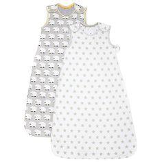 Buy John Lewis Sheep Star Baby Sleep Bag, 1 Tog, Pack of 2, Grey/White Online at johnlewis.com