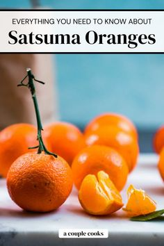 Here's what you need to know about the satsuma orange! Nab this mandarin orange variety in the grocery for snacking and recipes.   satsuma recipes   orange recipes   vegetarian recipes   #satuma #orange Clean Eating Vegetarian, Vegetarian Cookbook, Vegetarian Recipes, Quick Healthy Meals, Healthy Dessert Recipes, Quick Recipes, Satsuma Recipes, Satsuma Orange, Vegan Recipes Plant Based