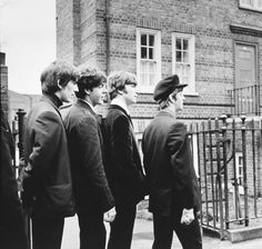 A Hard Day's Night Backstage