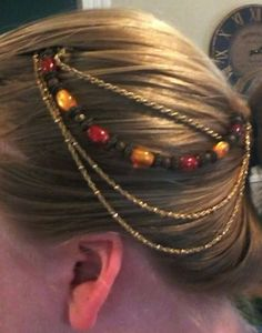DIY hair chain