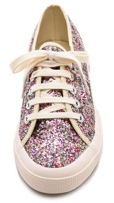 Superga Glitter Sneakers from ShopBop.