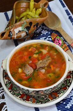 Lunch Recipes, Soup Recipes, Cooking Recipes, Healthy Recipes, Romanian Food, Tasty, Yummy Food, Lebanese Recipes, Hungarian Recipes