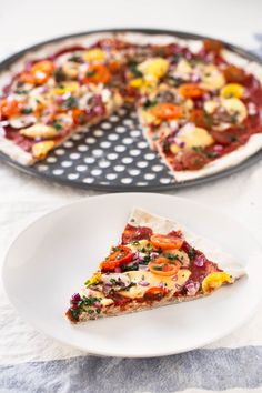 This vegan, gluten-free pizza crust is so easy to make and also yeast and fat-free. Besides, it requires just 3 ingredients.
