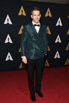 """mcavoys: """" Ryan Reynolds attends the 8th Annual Governors Awards hosted by the Academy of Motion Picture Arts and Sciences on November 12, 2016, at the Hollywood & Highland Center in Hollywood, California. """""""