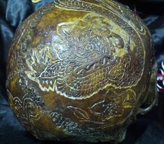POWERHAU$ WORLDWIDE: Real Human Skull Carvings