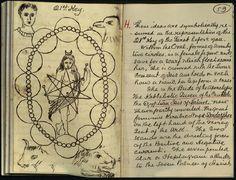 Magic notebook of William Butler Yeats (1865-1939)