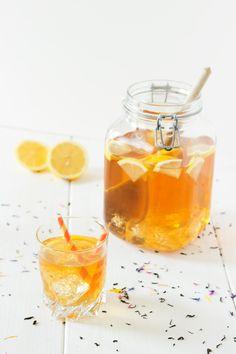Home made lemon ice tea recipe