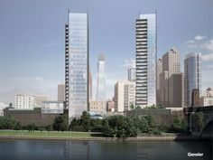 River Walk towers on the Schuylkill: 5 things to know