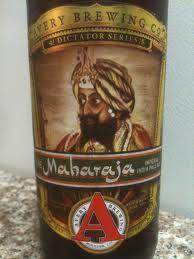 Avery Maharaja. Fantastic IPA that tastes as exotic as it sounds