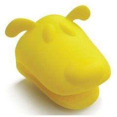 Szilikon edényfogó kesztyű - sárga kutyafej Mókás kutyaformájú szilikon sütőkesztyű azoknak, akik imádják a kutyákat vagy a kutyás kiegészítőket. Felveszi a kezed alakját, könnyű tisztítani és hippoalergén. Rubber Duck