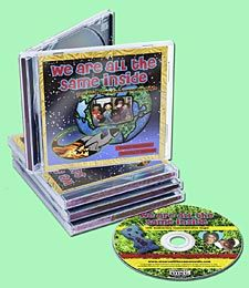 We Are All The Same Inside ®  Musical CD by Sherlie Matthews (circa. 2010).
