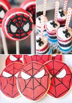 The Amazing Spiderman Birthday Party