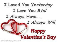 happy valentine's day short quotes