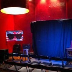 "photo: ""Here's my Red Room venue. It's red. And there's room. Red Rooms, Behind The Scenes, Red Bedrooms"