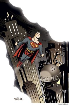 Happy 75th Superman. Lookin' good for your age. (pic by Dave Bullock)