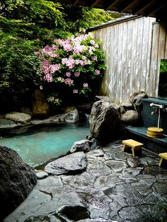 Personal hot spring bath, Ureshino Onsen, Saga Prefecture, Japan